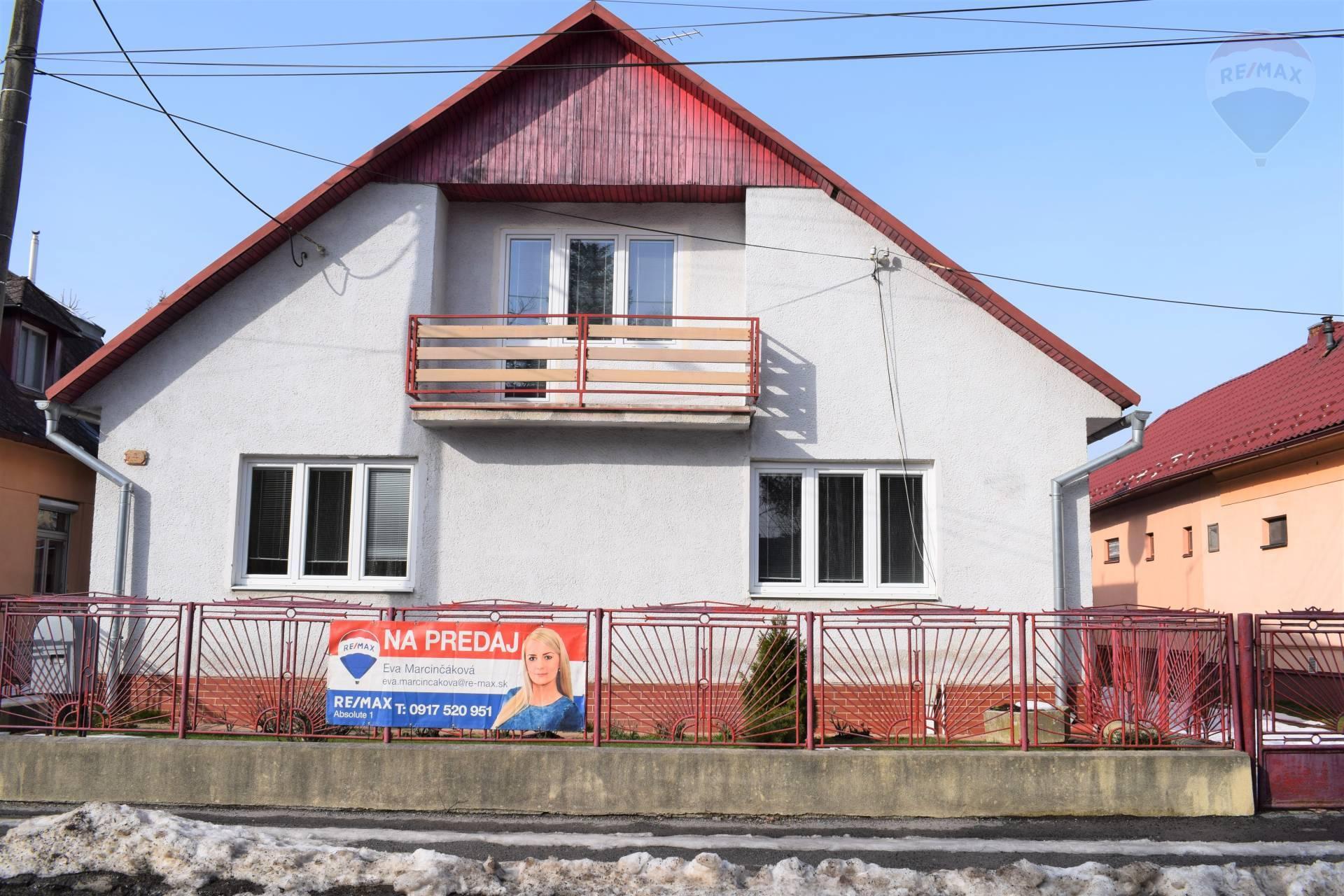 Rodinný dom na ulici Pugačevovej ulici v Humennom, na predaj.