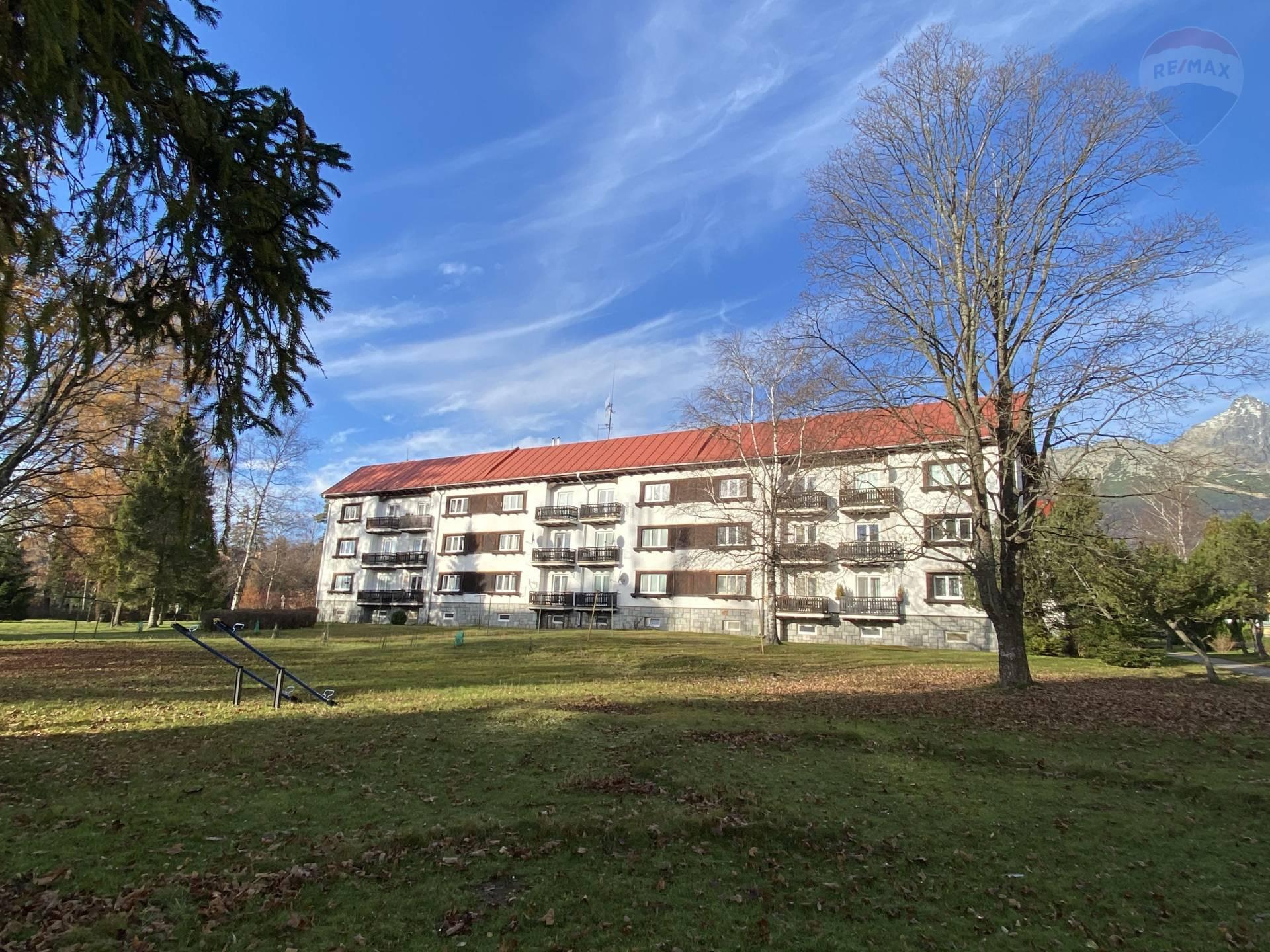 """Byt v Tatrách, v Tatranskej Lomnici"" Predaj 2-izb. byt, balkón, Vysoké Tatry, Tatranská Lomnica"