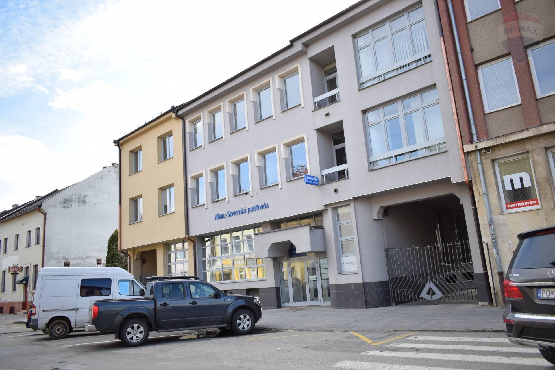 Prenájom kancelárske priestory, Prešov