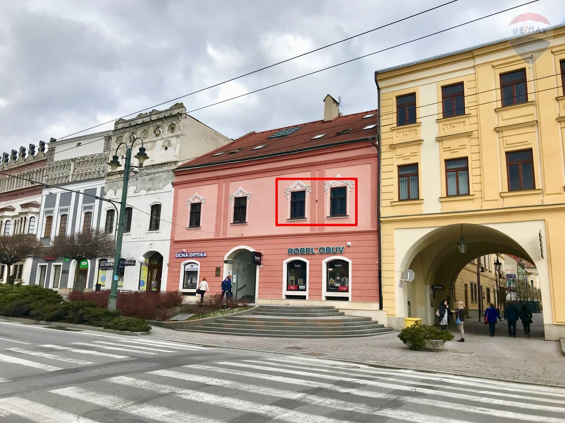 Komerčné priestory na prenájom, Prešov, Hlavná ul.