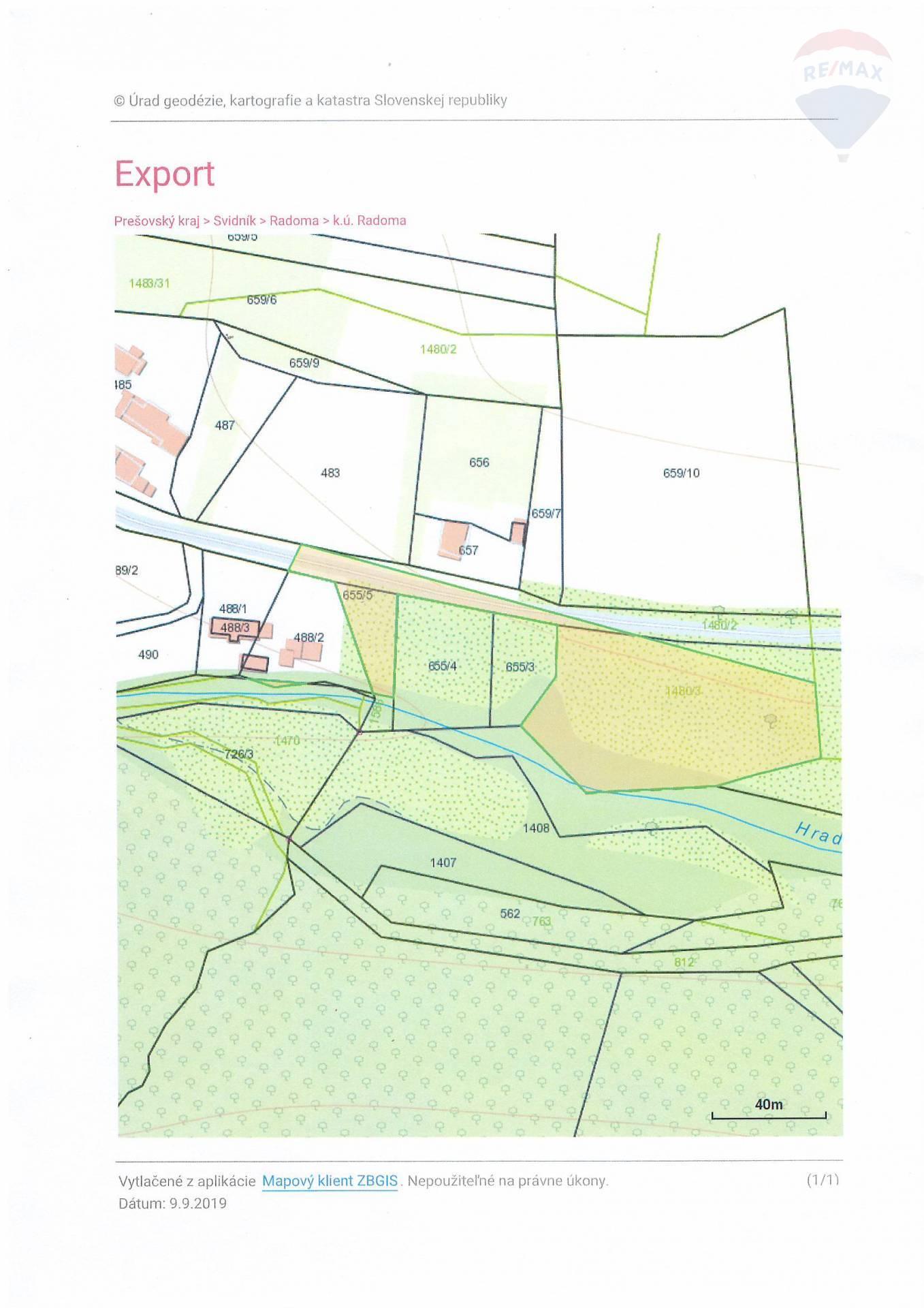 Pozemky na predaj, celková plocha 26770 m2, Radoma