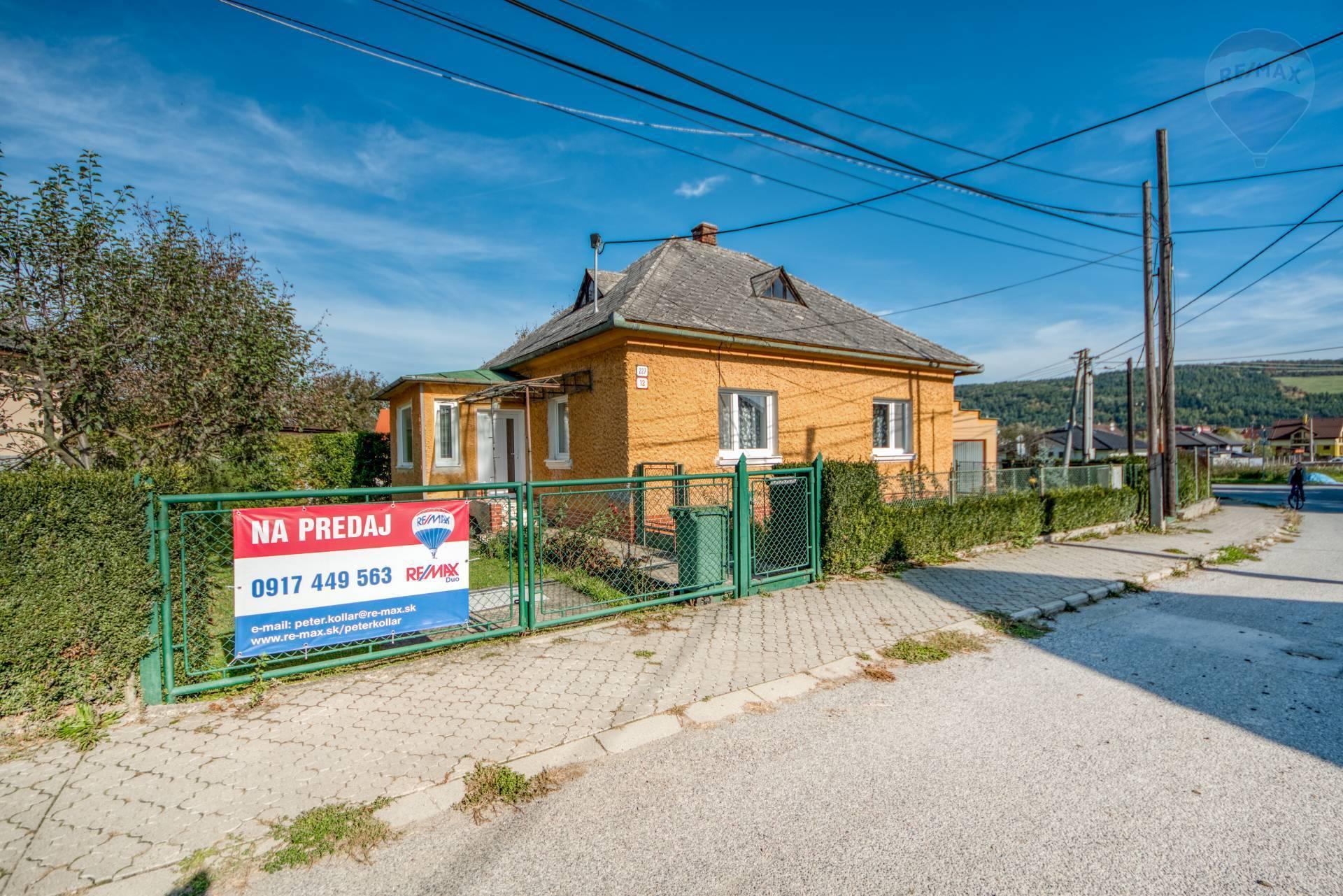 Rodinný dom na predaj, ulica Doktora Greša, Veľký Šariš