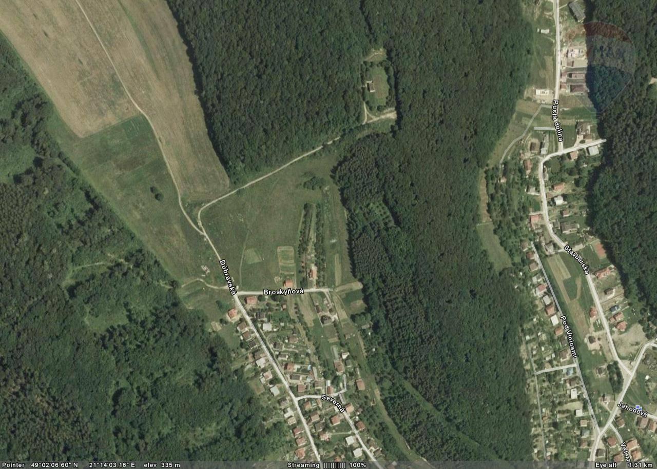 Pozemok na výstavbu rodinných domov v Prešove - Dúbrava na predaj