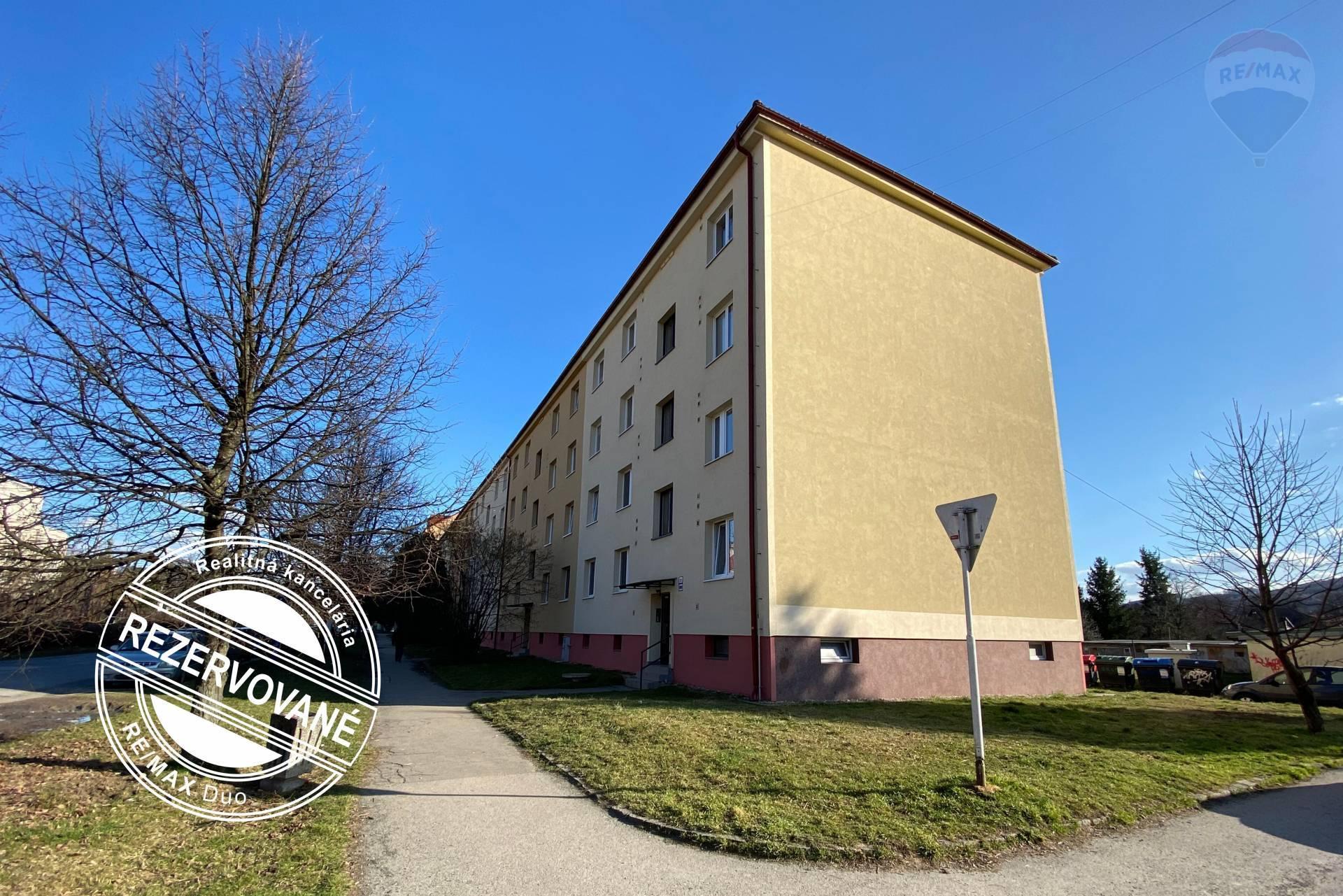 REZERVOVANÉ: 2 izbový byt na predaj, Pavlovičovo námestie, Prešov