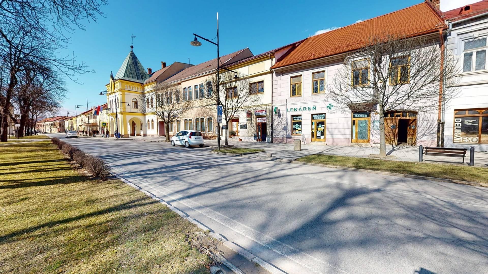 Komerčná budova na predaj, Námestie slobody, Sabinov