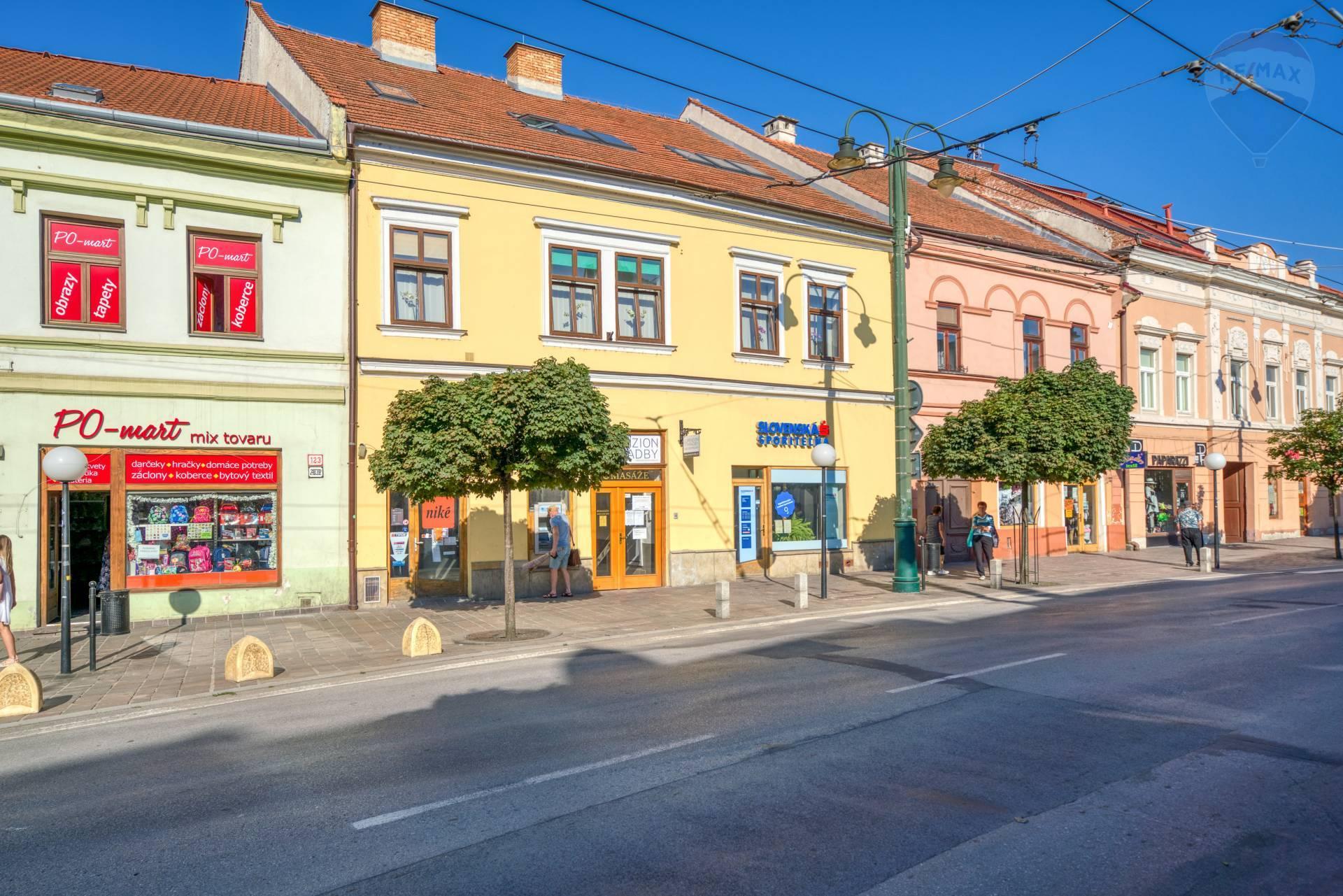 Reprezentatívne obchodné priestory na prenájom, Hlavná ulica, Prešov