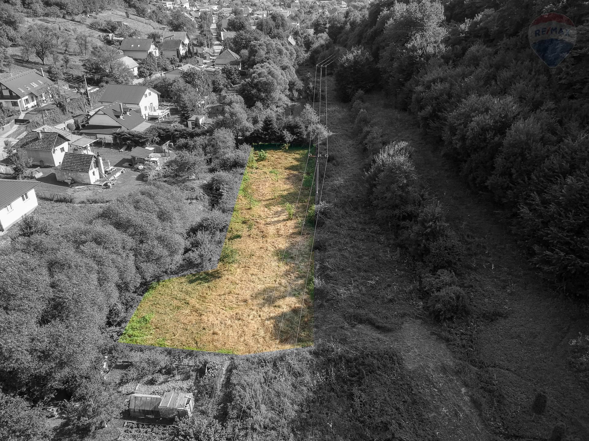 Rekreačný pozemok na predaj s plochou 544 m2, Veľký Šariš - Kanaš