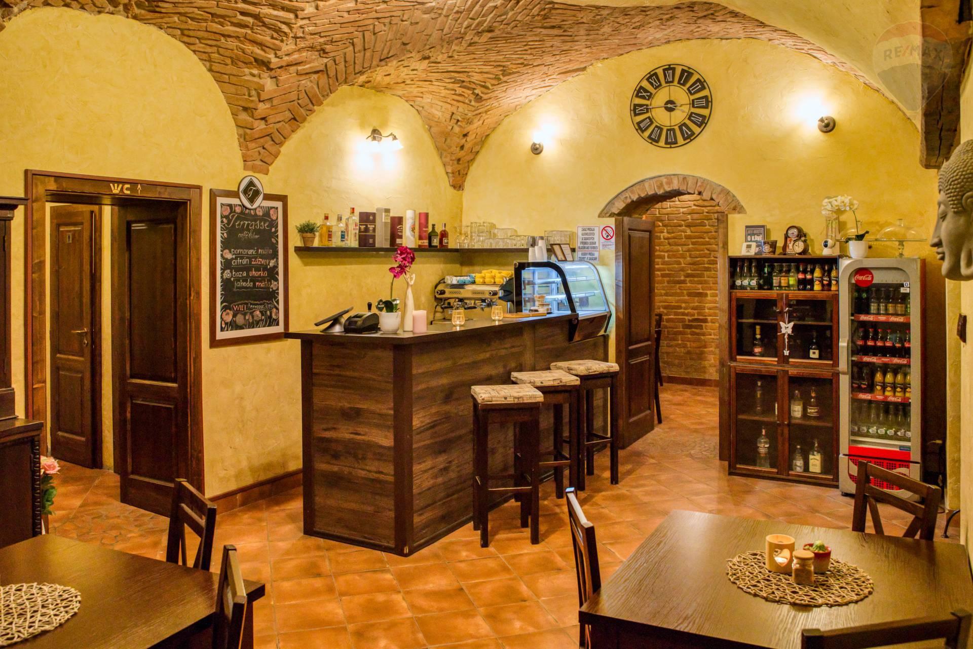 Odstúpenie kaviarne na Slovenskej ulici v Prešove