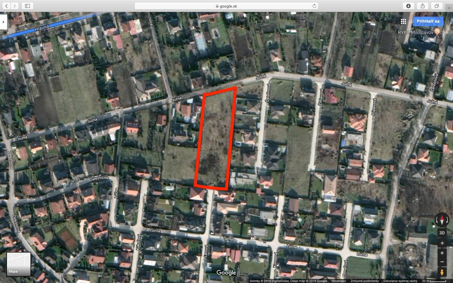 Stavebný pozemok v zastavanej časti Alžbetin Dvor o rozlohe 5331m2