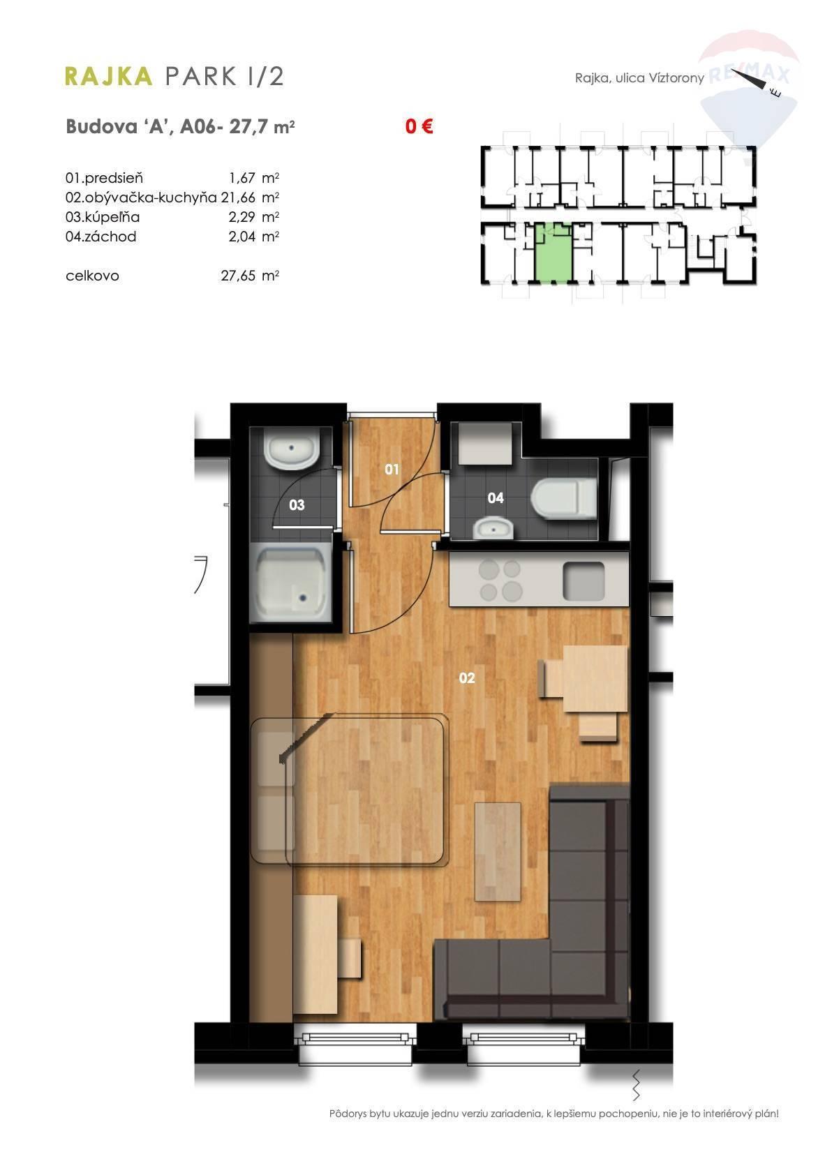 Predaj 1-izbový byt, novostavba