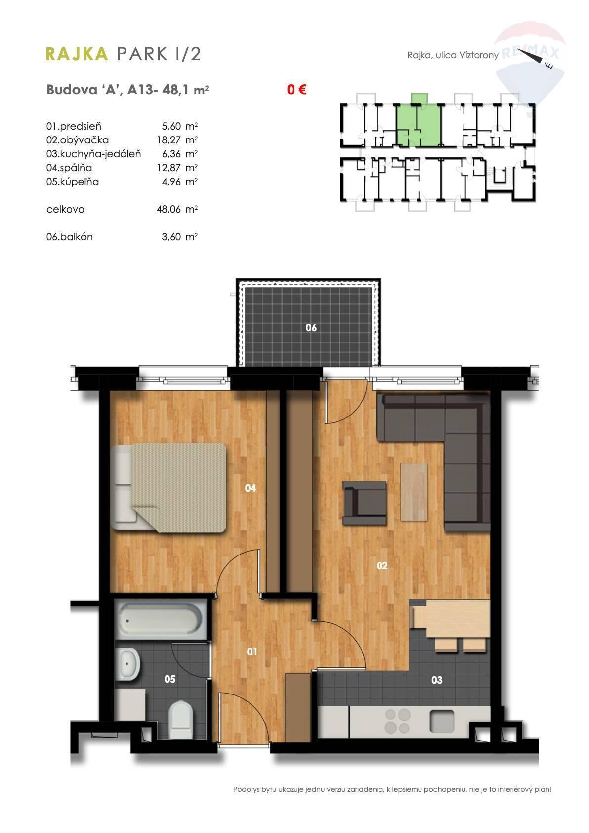 Predaj 2-izbový byt sbalkonom, novostavba