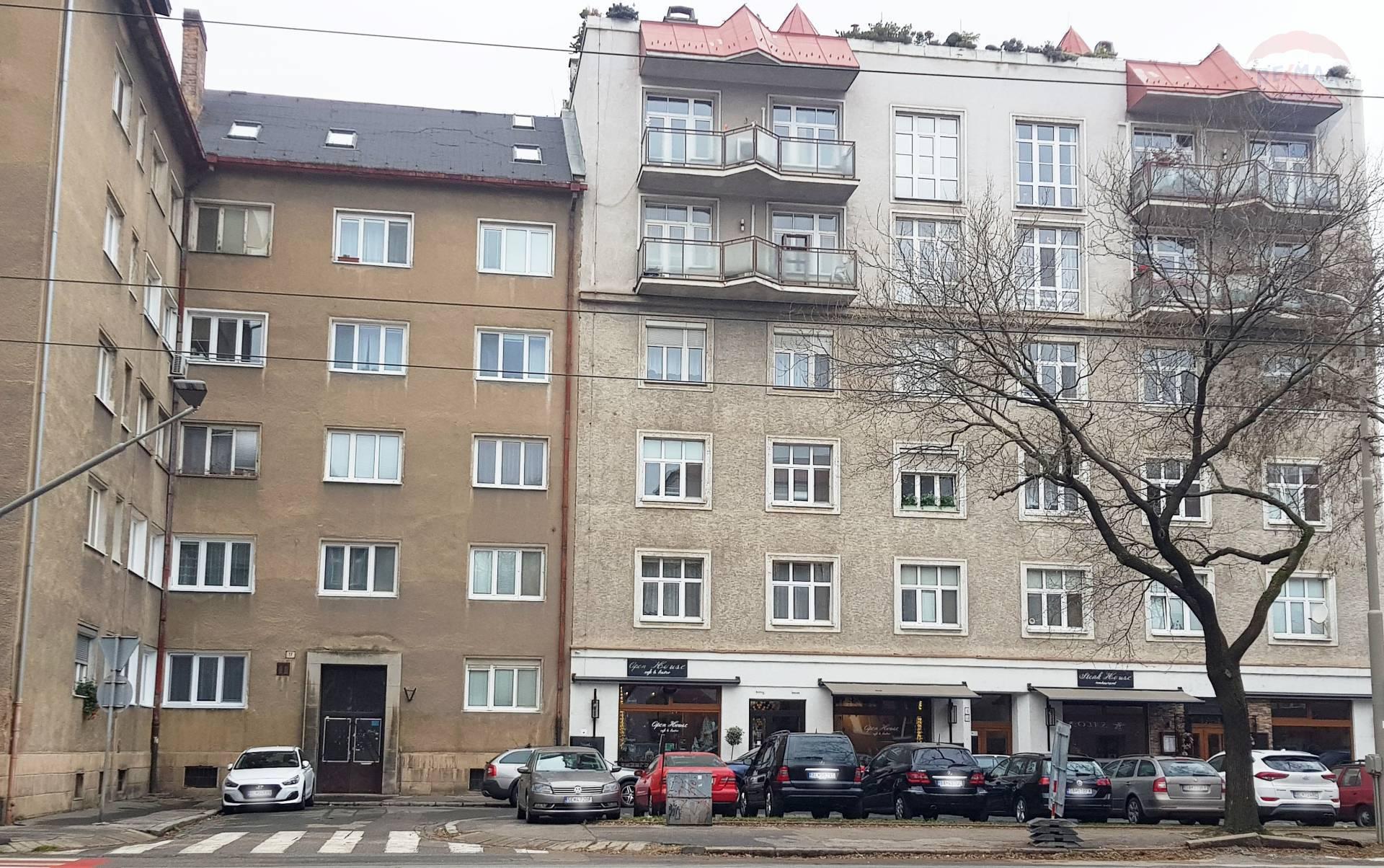 Predaj, 2-izbový byt s balkónom  (54 m2), zariadený, Vajnorská ul.,pri Trnavskom mýte