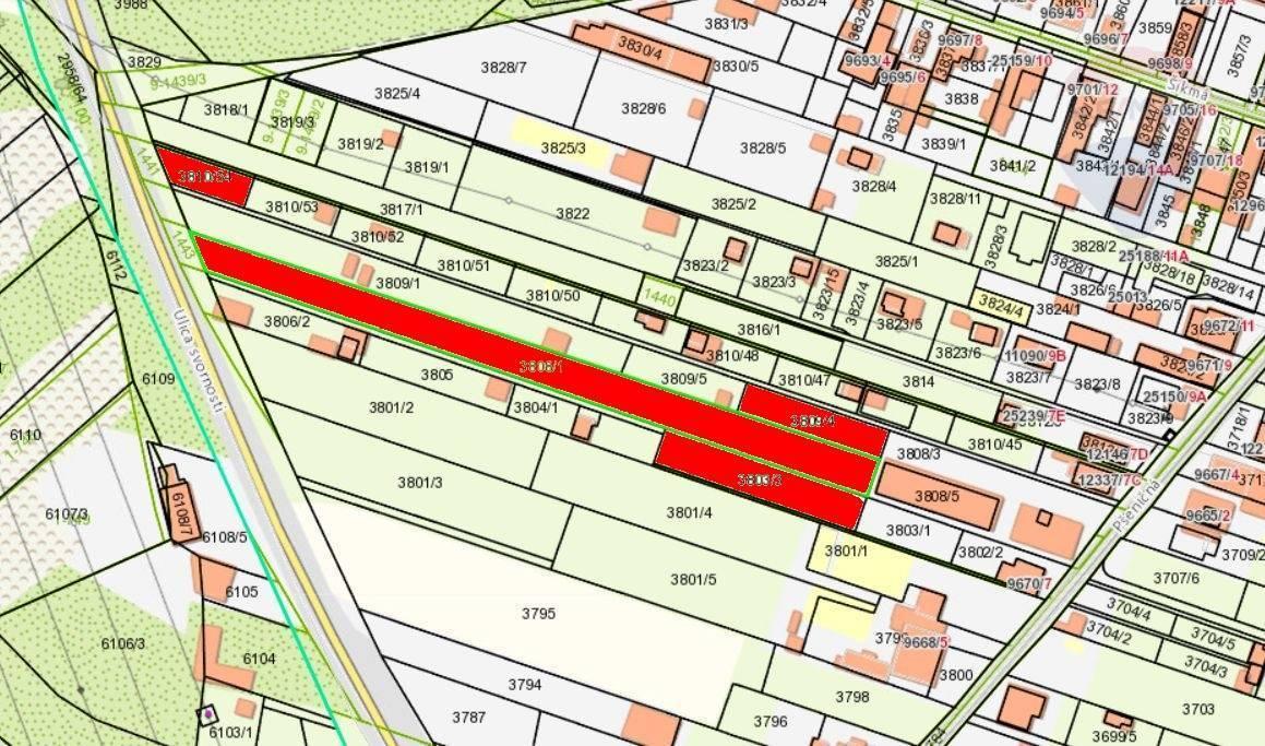 Predaj, pozemok 3500 m2, ul. Svornosti, Podunajské Biskupice