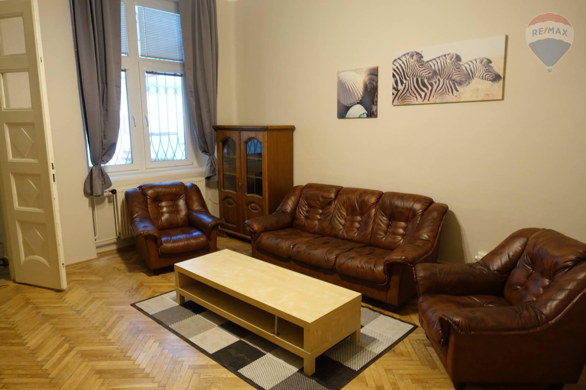Na prenájom 3 – izbový byt, 95 m2, Alžbetina 55, Košice
