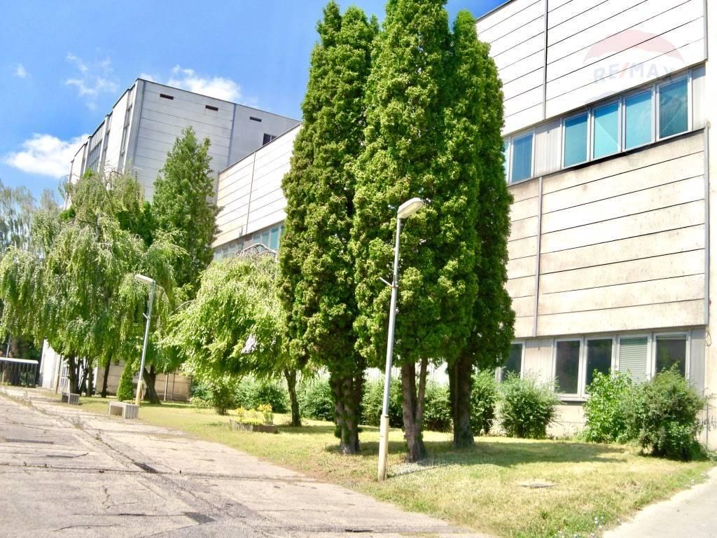 Predaj komerčného objektu 22847 m2, Vrbové - Vyrobna hala - pohlad spredu