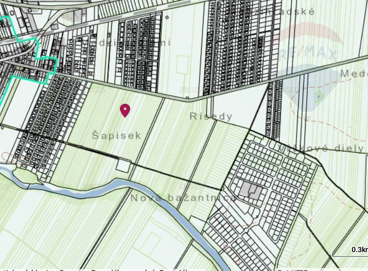 Pozemok 8979 m2 v Bernolákove