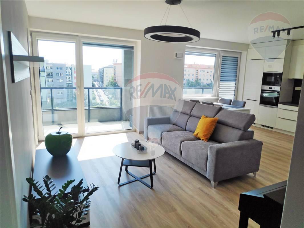 PRENÁJOM: 4-izbový byt, novostavba Urban Residence, Račianska ul, veľká loggia, parkovanie, pivnica