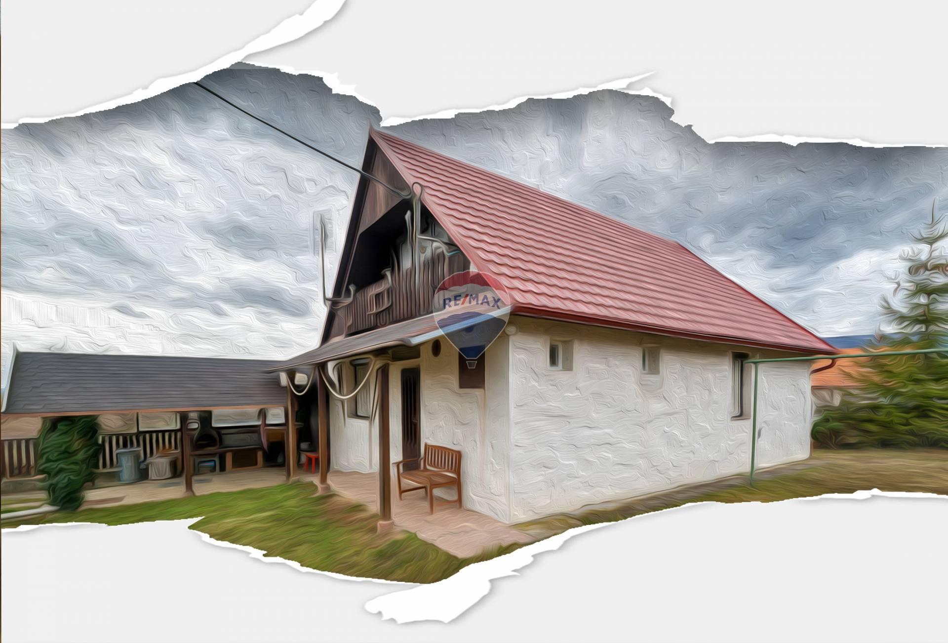 PREDAJ - Chalupa - (Rekreačná chata) - Lubina - Hrnčiarové
