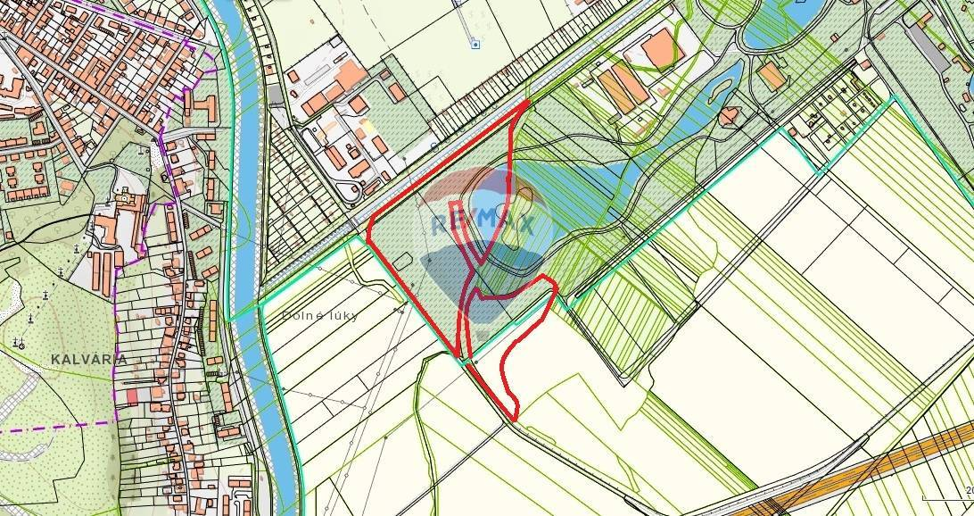 Predaj pozemku 69478 m2, Nitra -