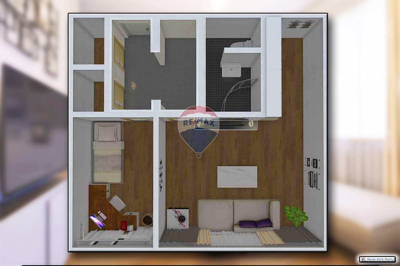 REZERVOVANÉ- 2i byt - (40m) - Stará Turá