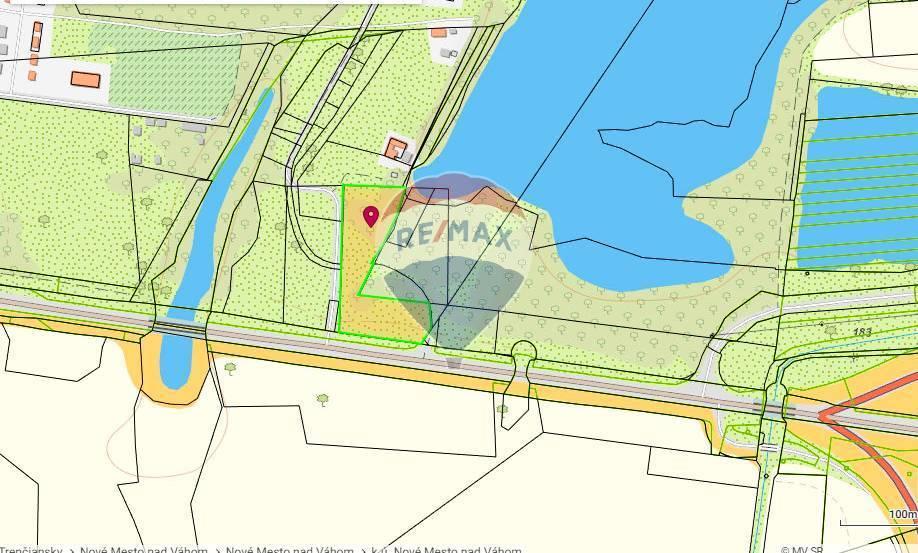 Predaj pozemok 5540 m2, Nové Mesto nad Váhom-Zelená Voda