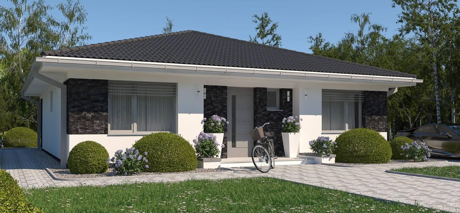 Na predaj novostavba 4izb, rodinného bungalovu  - Sučany, Slnečné Hrabiny