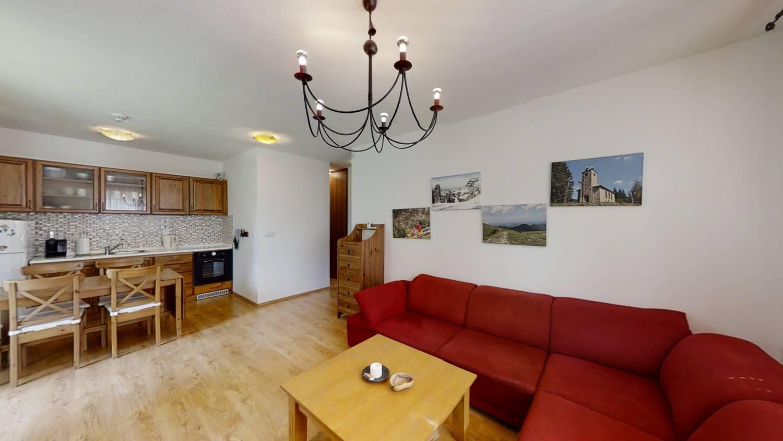 Na predaj 3 izbový apartmánový byt s vlastnou záhradou v obci Oščadnica