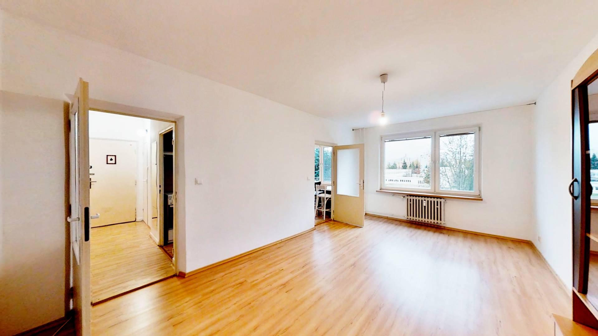 Na predaj veľký 2 izbový byt v Žiline, časť - Hliny VI