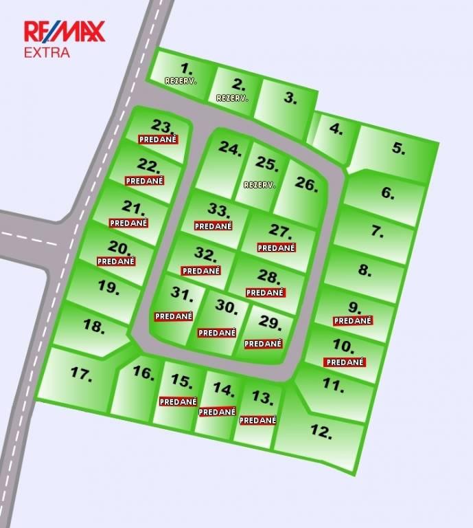Predaj pozemkov Villa Park Rakoľuby -