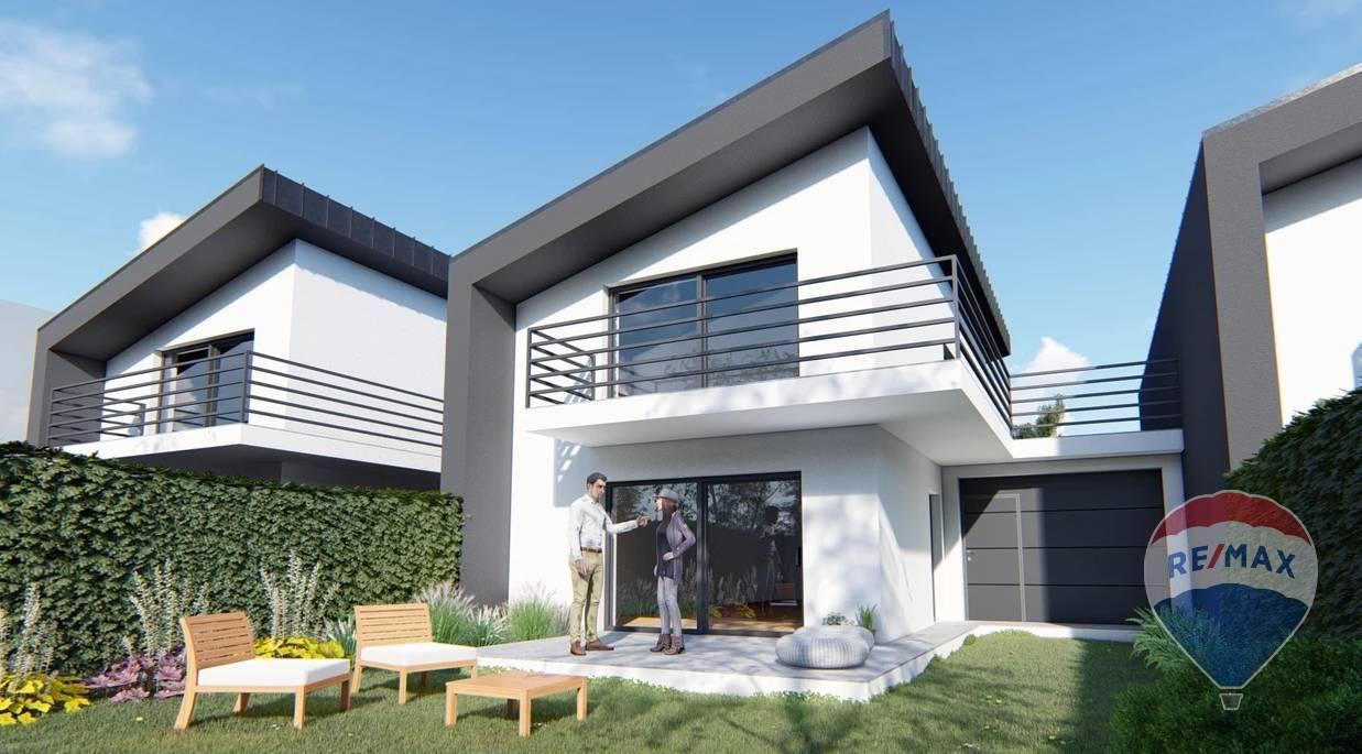 Na predaj novostavba, 3 nízkoenergetické rodinné domy- Opatová nad Váhom