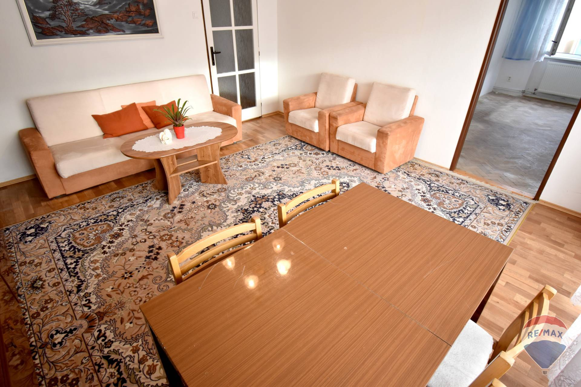 Na predaj 3 izbový byt, 70 m2, Melčice