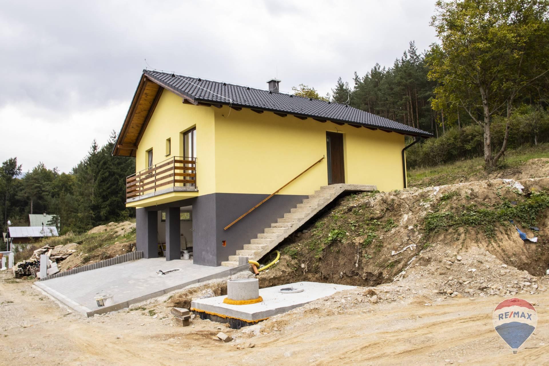 REZERVOVANÉ Rodinné domy Trenčianske Teplice