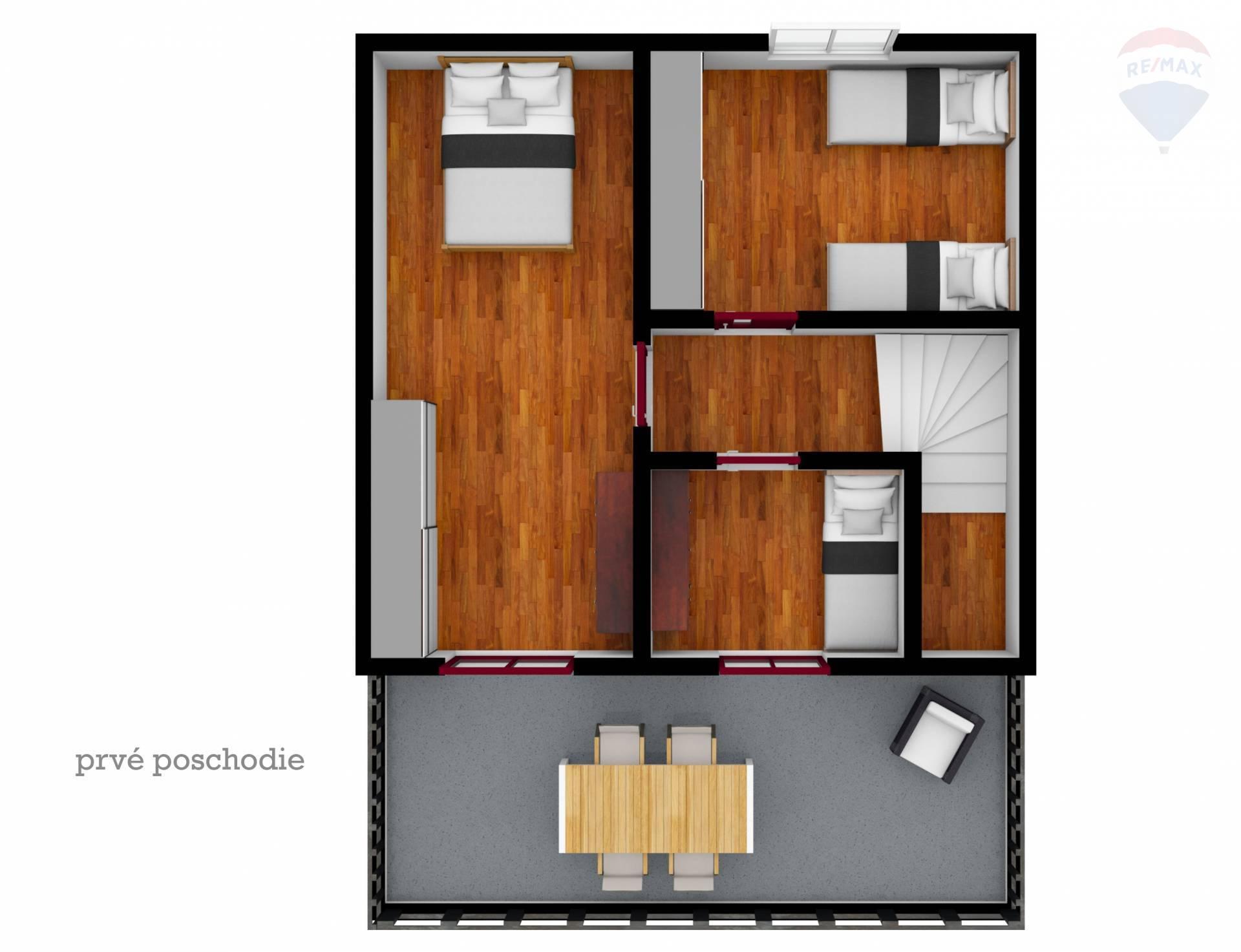 Predaj chaty 121 m2, Malé Leváre -