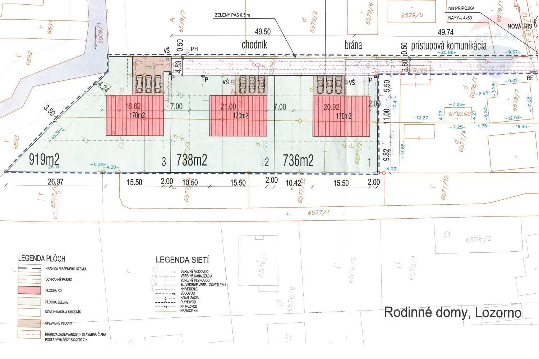 Na predaj: stavebný pozemok v obci Lozorno