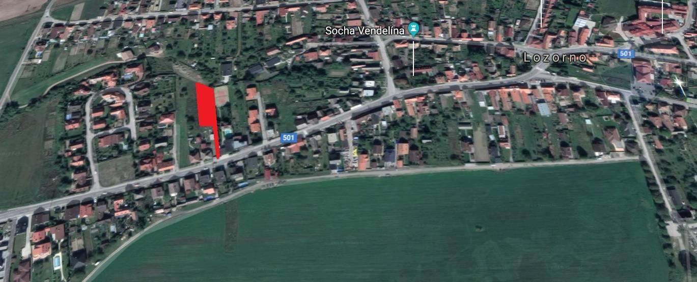Na predaj: stavebné pozemky v Lozorne