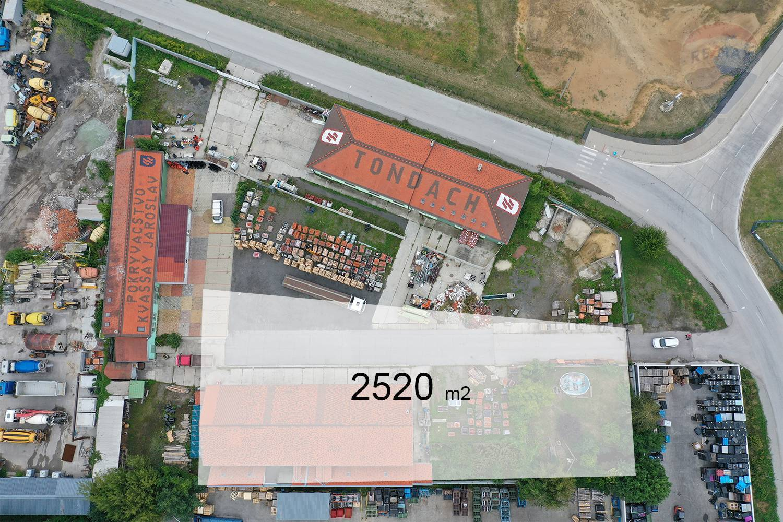 Na predaj priemyselná hala 560 m2 v Malackách