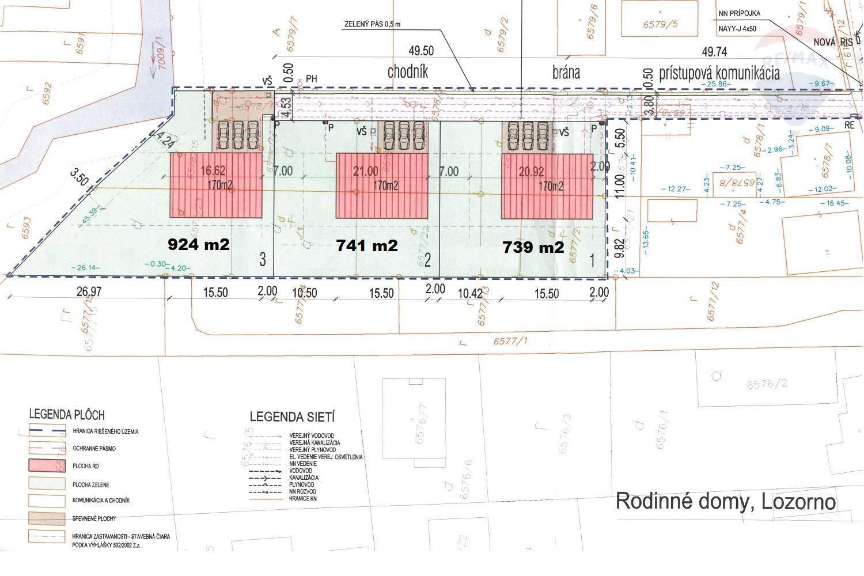Na predaj: stavebný pozemok v Lozorne