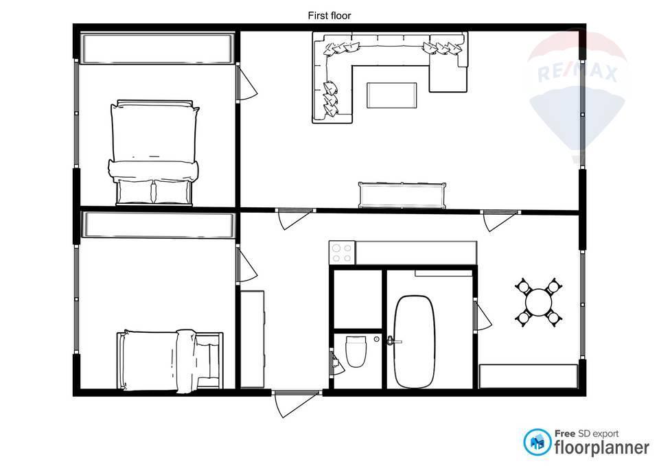 Predaj 3-izbového bytu v centre mesta Malacky