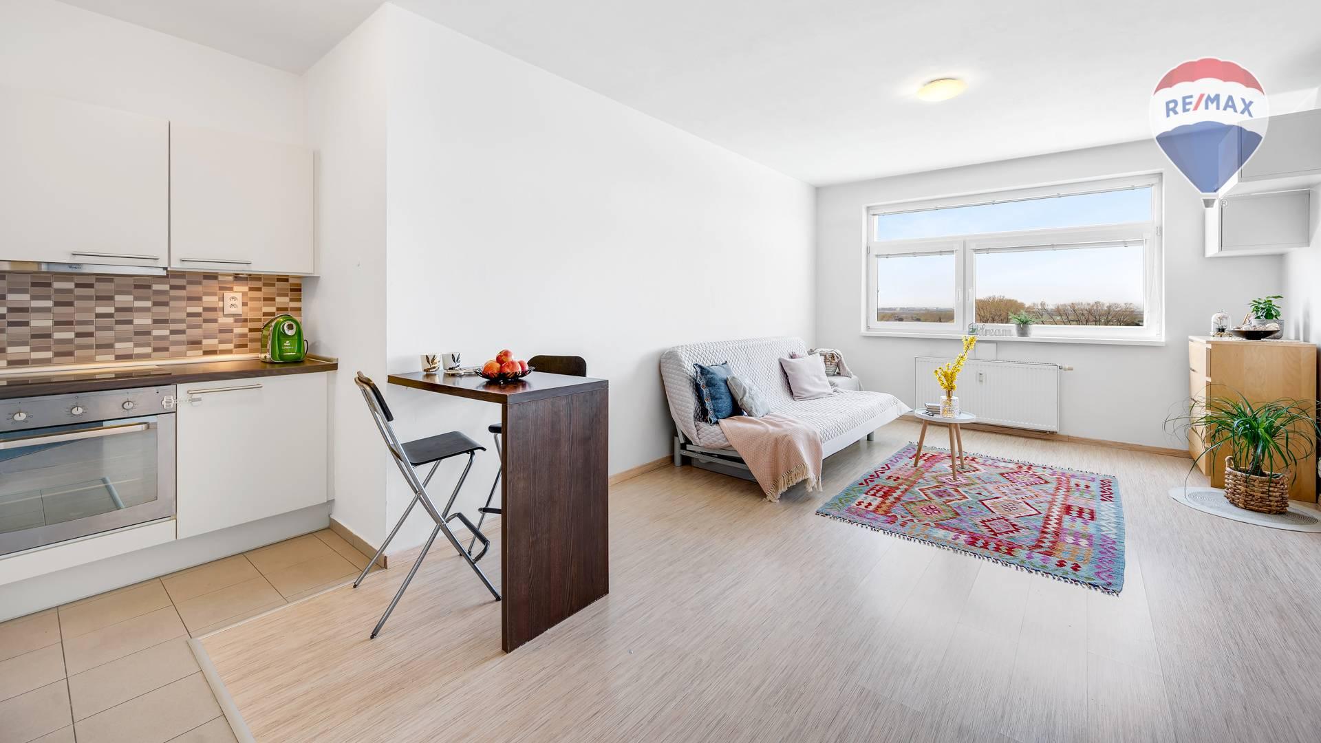 Slnečný 1-izbový byt v zelenej časti Bratislavy, Záhorská Bystrica