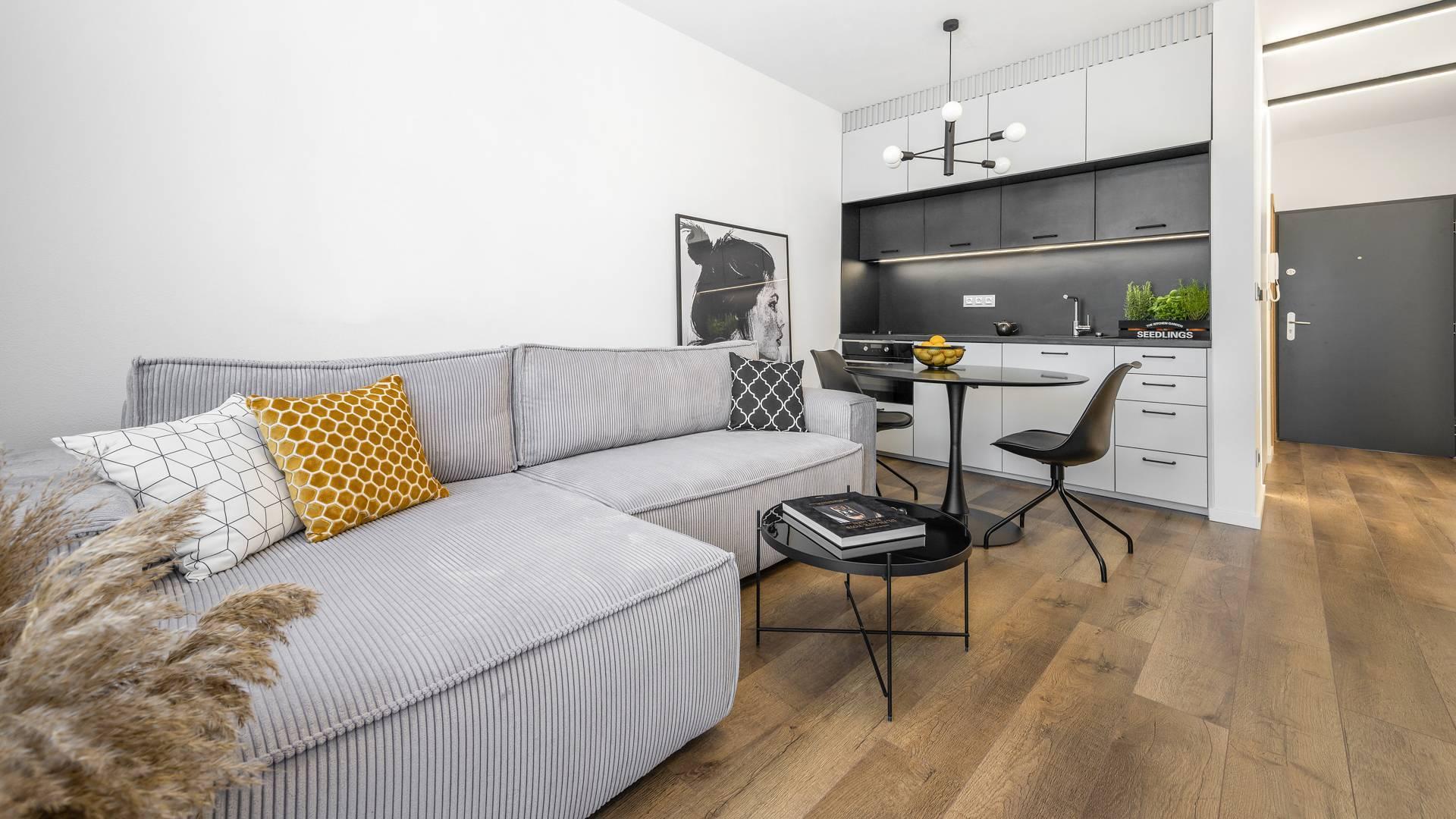 NA PRENÁJOM: Nový apartmán v novostavbe KARLOVE, BA IV.