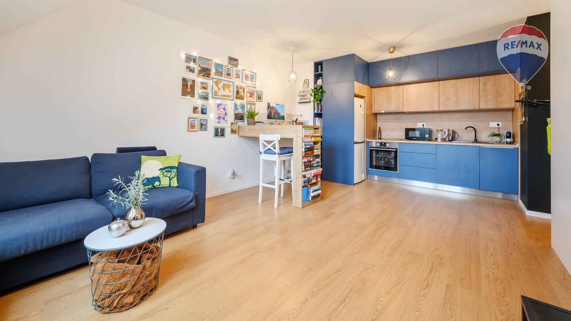 NA PRENÁJOM: kompletne zariadený 2 izbový byt v novostavbe