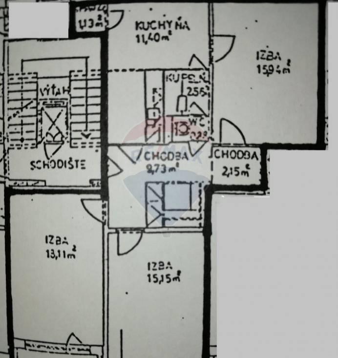 3 izbovy byt na predaj Priekopa