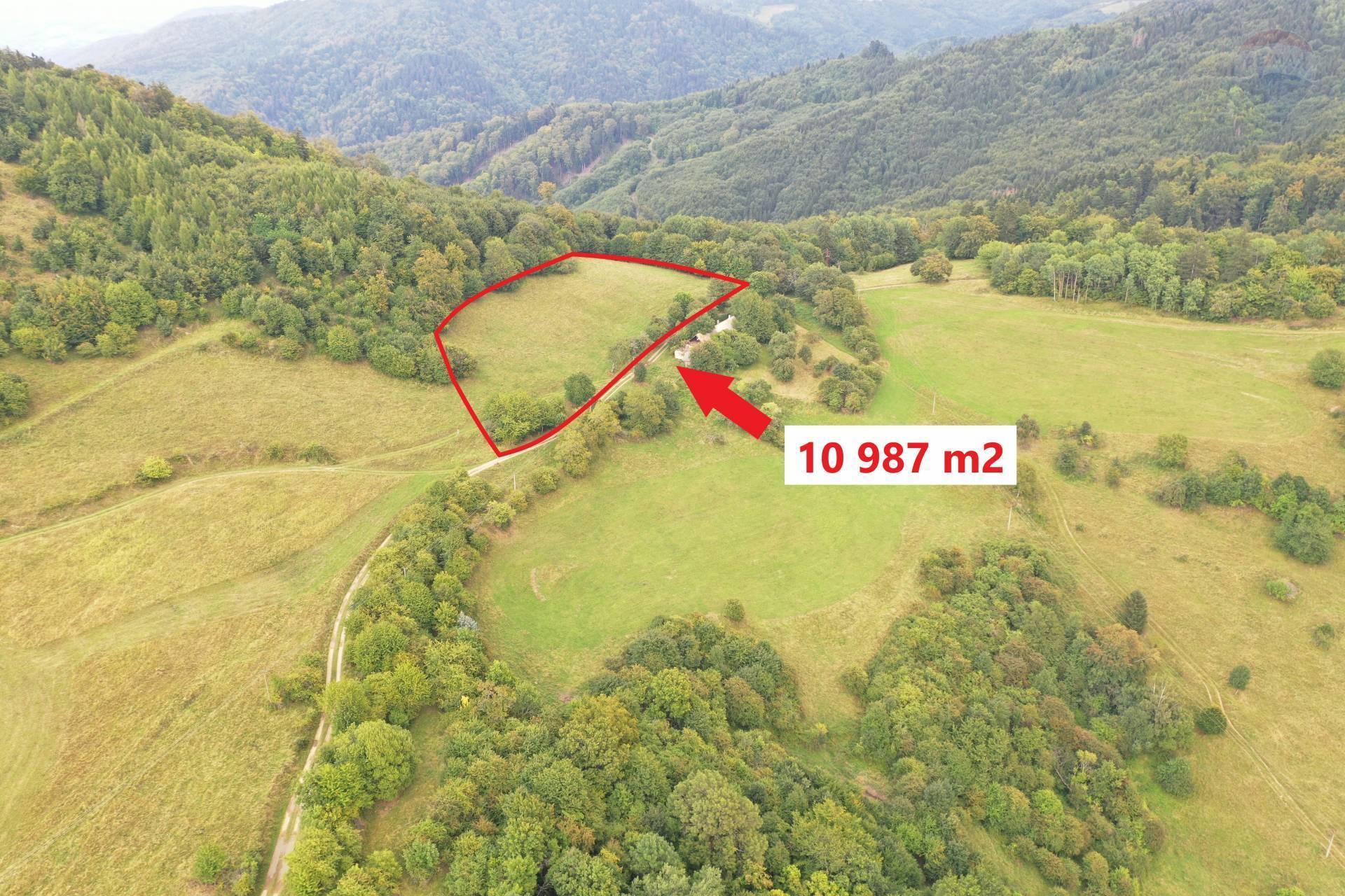 Predaj pozemku 10987 m2, Hodruša-Hámre - predaj, pozemok, banská štiavnica, hodruša-hámre,chata