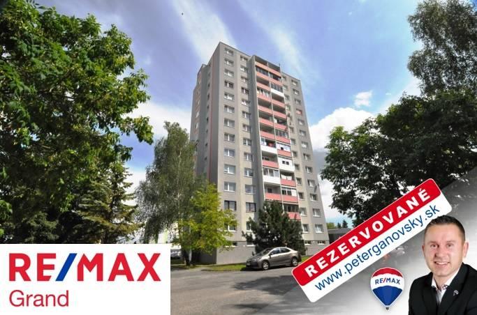 **REZERVOVANÉ** PREDAJ, 3-izbový byt, 64,84 m2, Poprad, Ul. Tajovského,