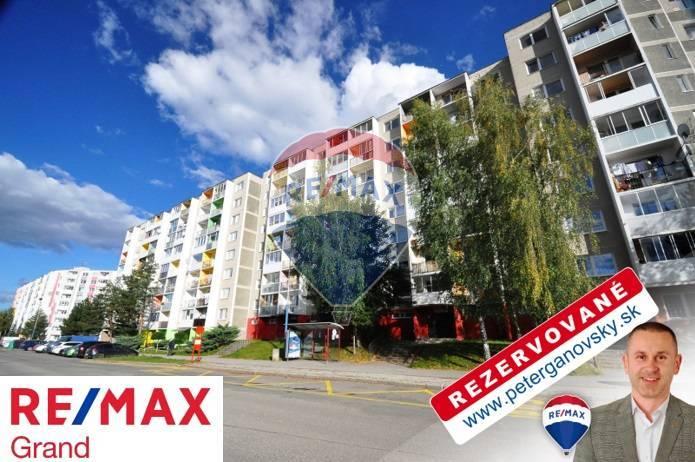 **REZERVOVANÉ** PREDAJ, 1-izbový byt, balkón, Poprad, Ul. Suchoňova,