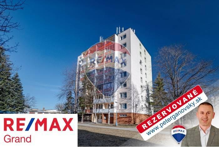 **REZERVOVANÉ** PREDAJ, 1-izbový byt, Poprad, Ul. Komenského, blok Olympia,