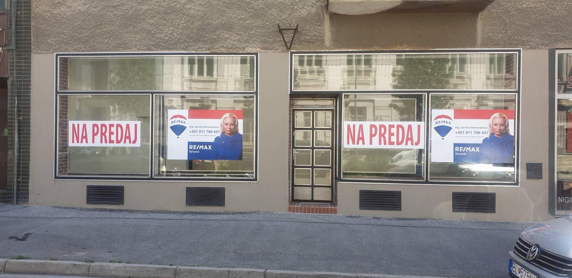 Predaj komerčného priestoru 98 m2, Bratislava - Staré Mesto -