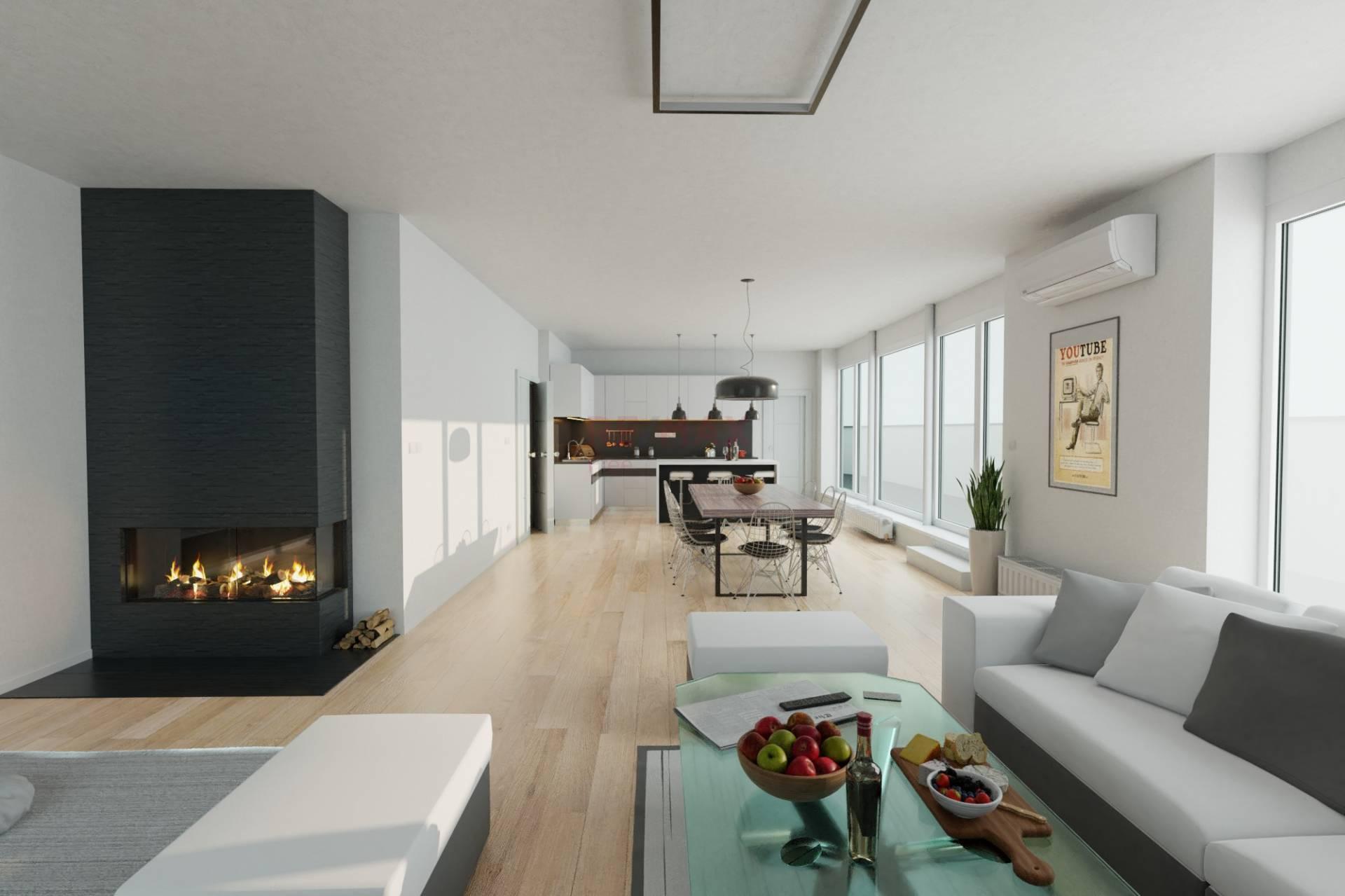 Na predaj: Luxusný 4 izbový byt s terasou a dvoma garážovými státiami v novostavbe Mendelsohn