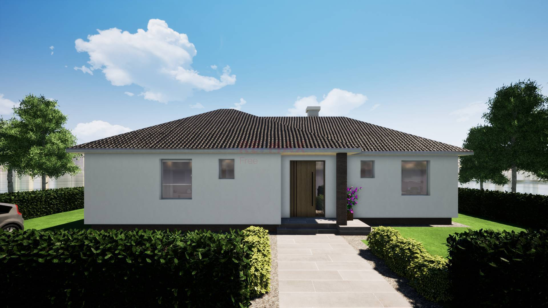 Na predaj: 4izbový rodinný dom Dobrohošť