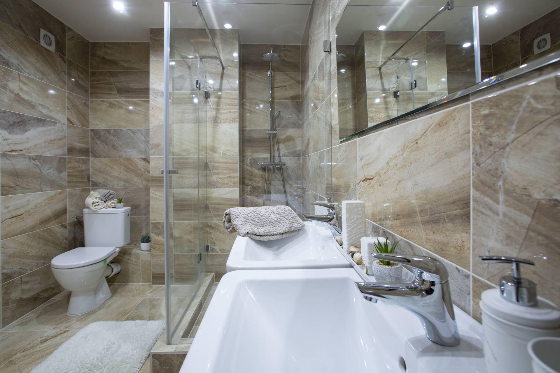 Predaj bytu (4 izbový) 95 m2, Nitra - 4i exkluzívny byt, Mostná, Nitra Kupelna